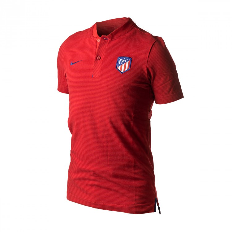 Polo Nike Atlético de Madrid NSW Modern GSP 2017-2018 Spor red-Gym red-Deep royal blue