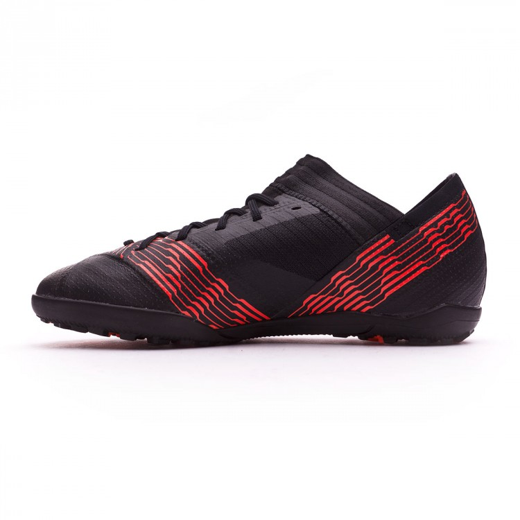 Zapatilla adidas Nemeziz Tango 17.3 Turf Niño Core black-Gold metallic