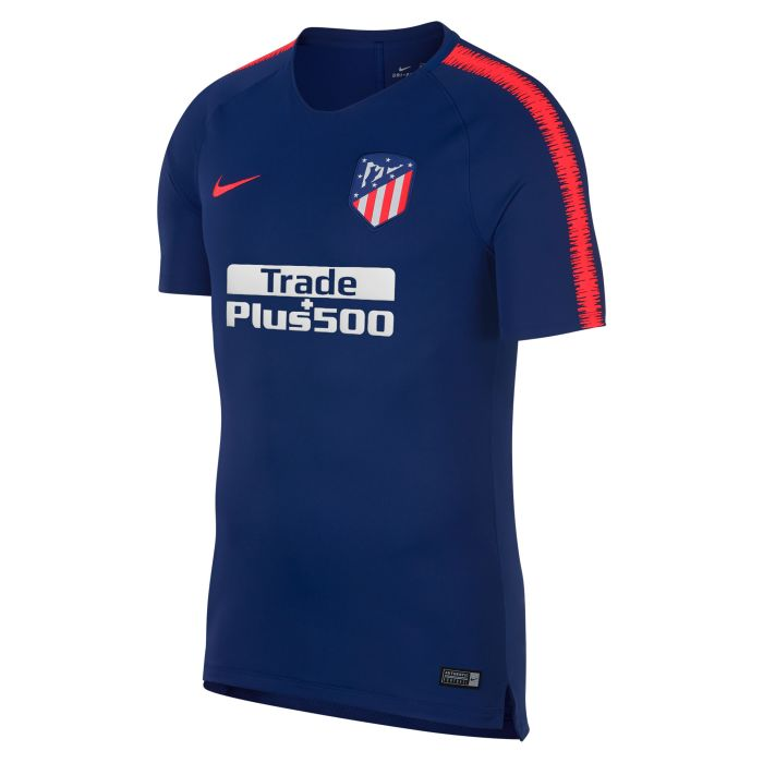 Camiseta de Training Atlético de Madrid Breathe Squad Azul Rojo 2018/2019