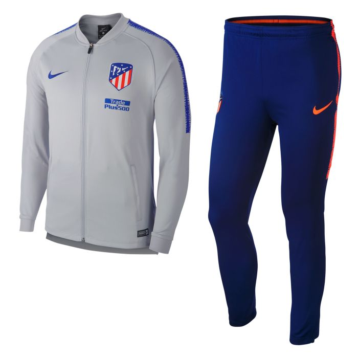 Chándal de Training Atlético de Madrid Dri-FIT Squad Gris 2018/2019