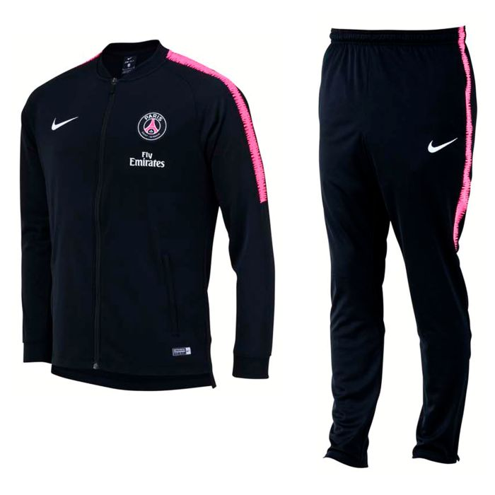 Chándal de Training Paris Saint-Germain Dry Squad Negro 2018/2019
