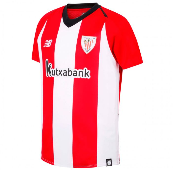 Camiseta primera Athletic Club Bilbao Junior Rojo Blanco 2018/2019