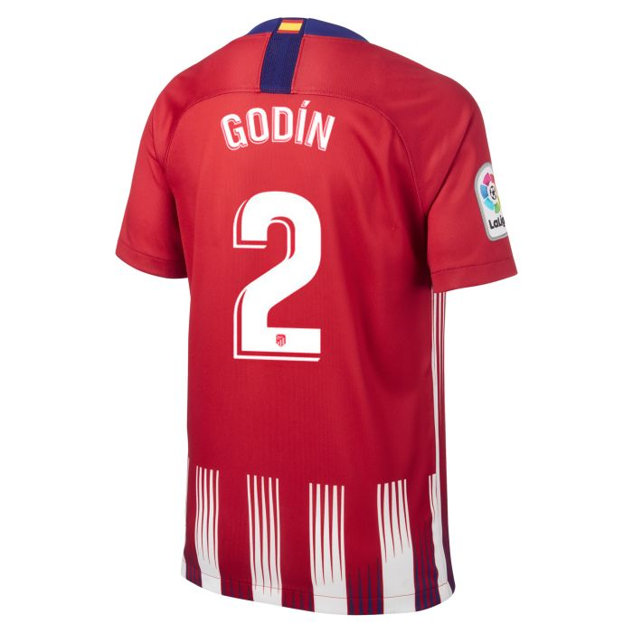 Camiseta primera Atlético de Madrid Stadium Junior Godín 2018/2019