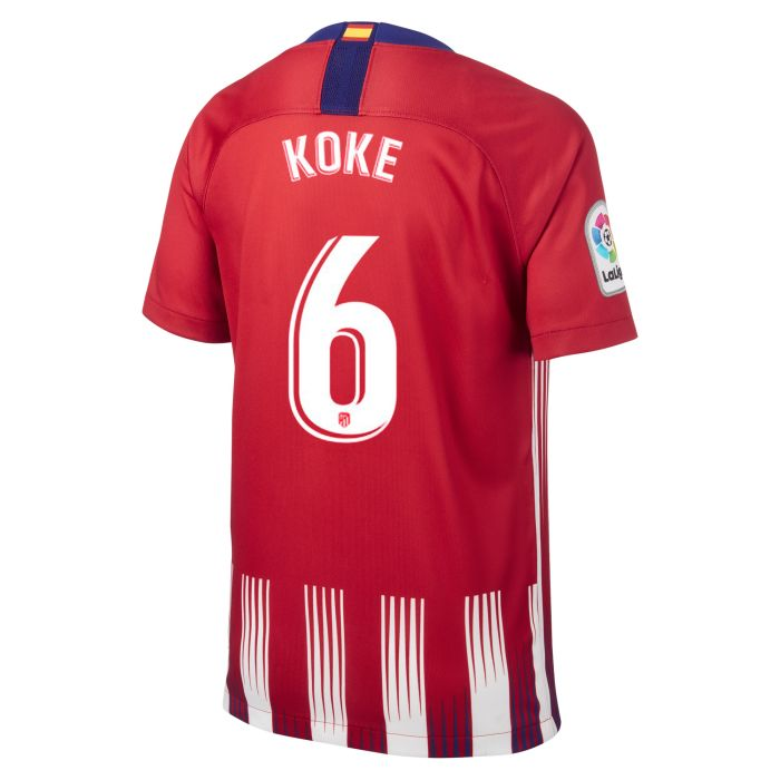Camiseta primera Atlético de Madrid Stadium Junior Koke 2018/2019