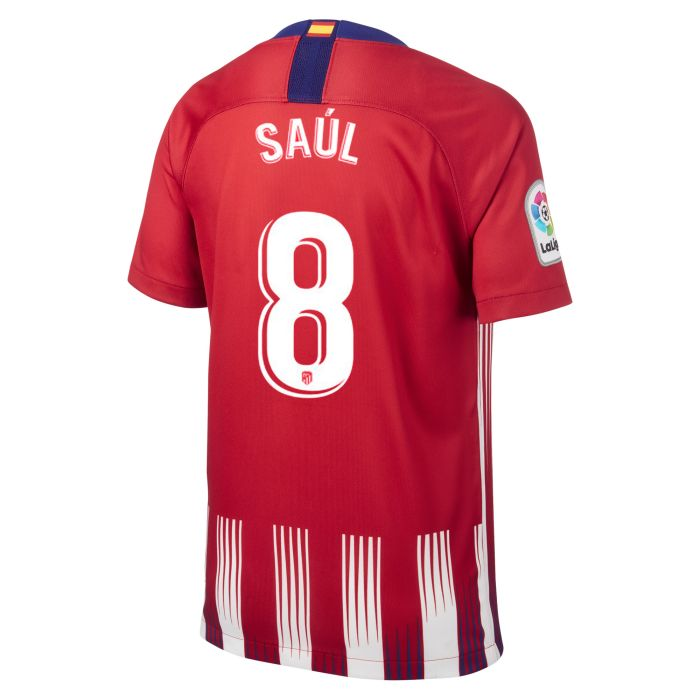 Camiseta primera Atlético de Madrid Stadium Junior Saúl 2018/2019