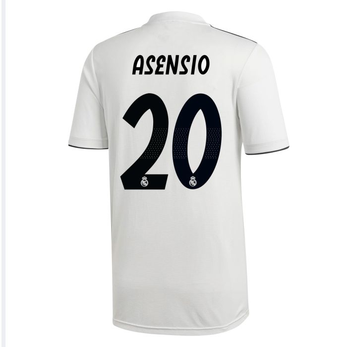 Camiseta primera Real Madrid Asensio Blanco 2018/2019