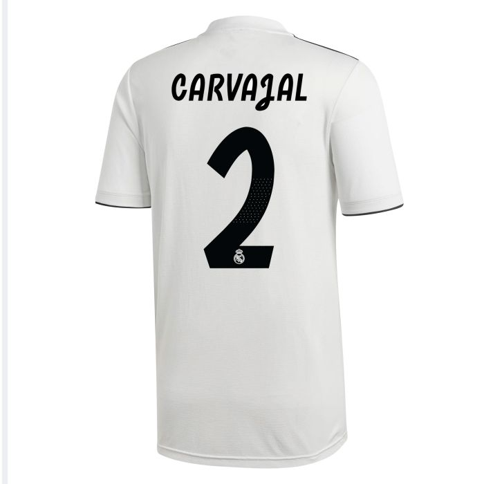 Camiseta primera Real Madrid Carvajal Blanco 2018/2019