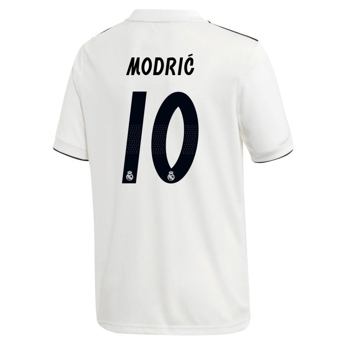 Camiseta primera Real Madrid LaLiga Modric Junior 2018/2019