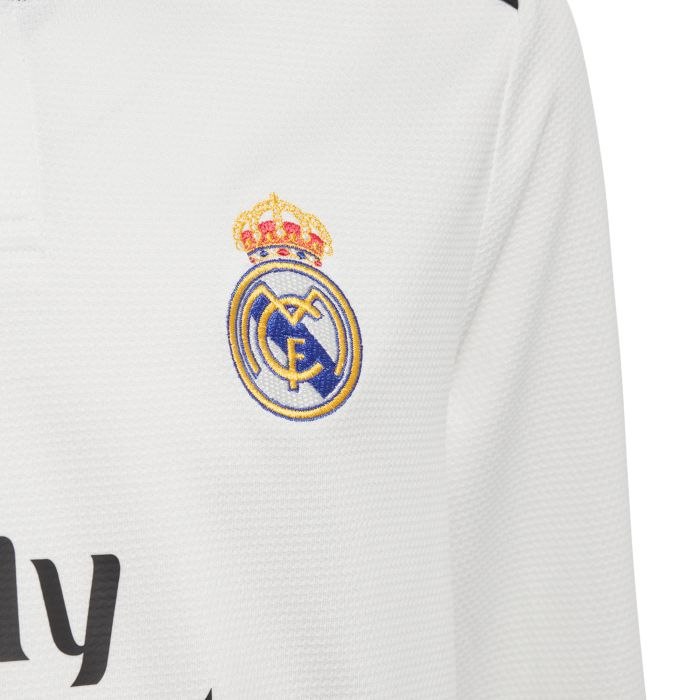 Camiseta primera Real Madrid Manga Larga Marcelo Junior 2018/2019