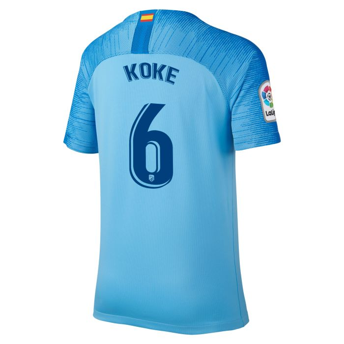 Camiseta segunda Atlético de Madrid Stadium Koke Junior 2018/2019