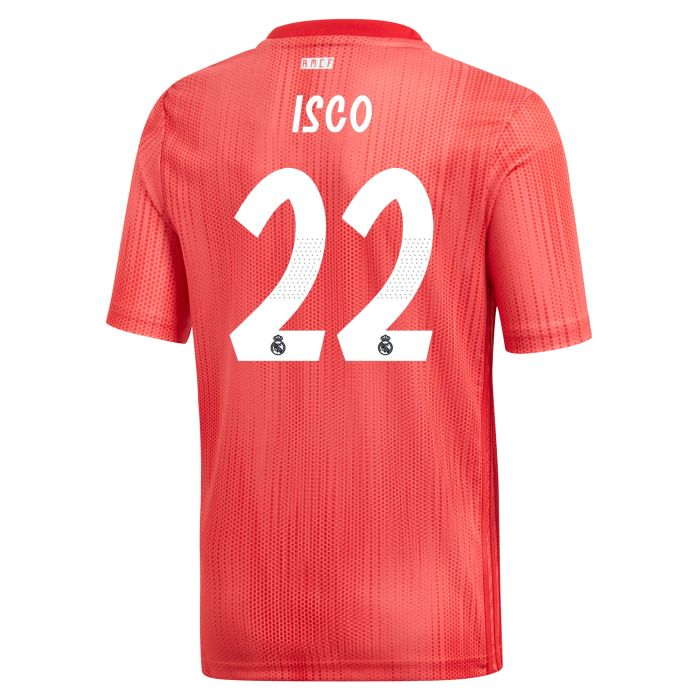 Camiseta tercera Real Madrid Junior Isco Coral 2018/2019