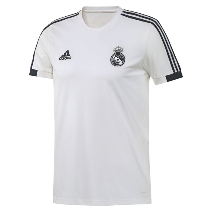 Camiseta de Paseo Real Madrid Blanco 2018/2019