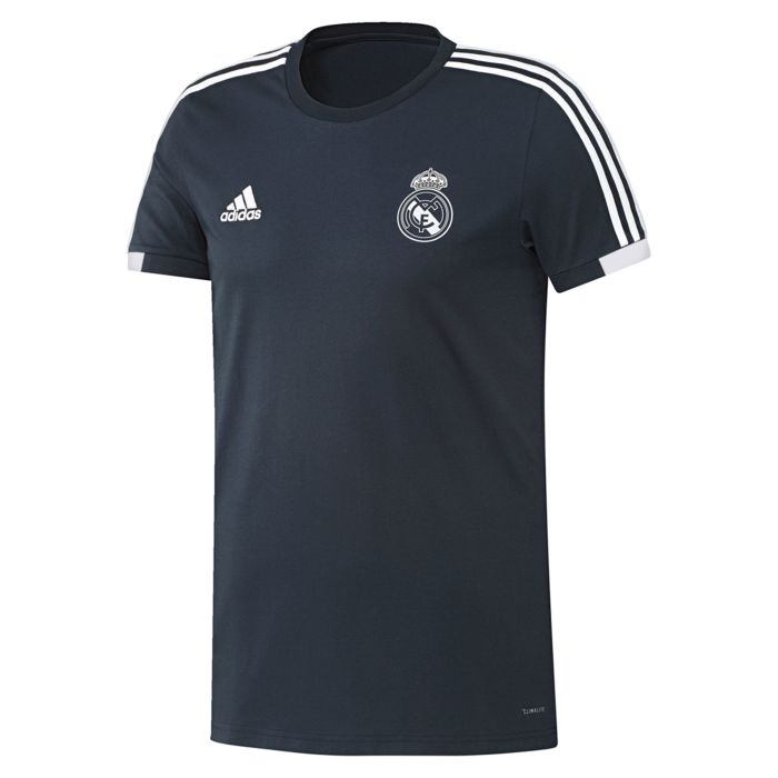 Camiseta de Paseo Real Madrid Gris 2018/2019