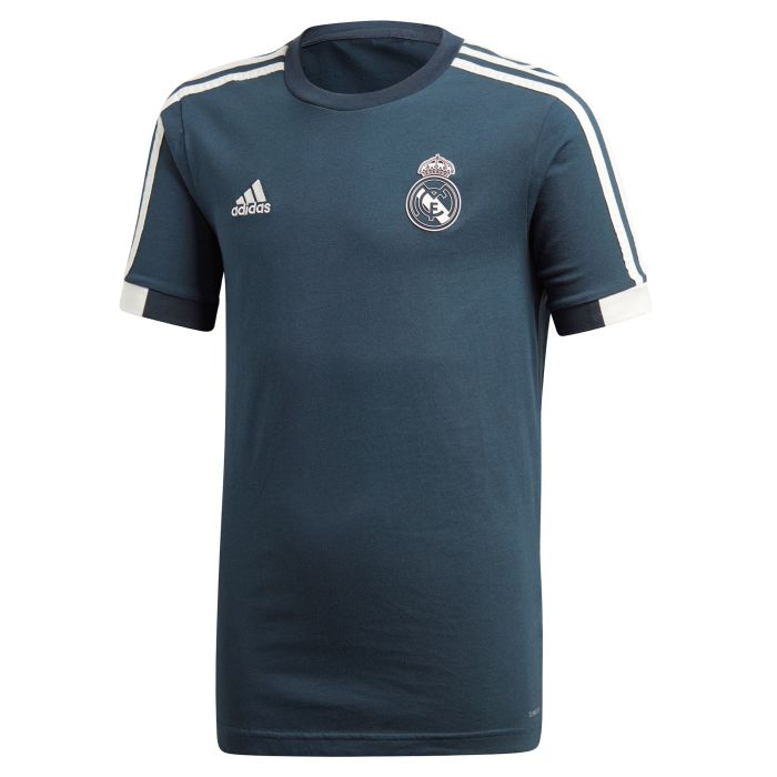 Camiseta de Paseo Real Madrid Junior Gris 2018/2019