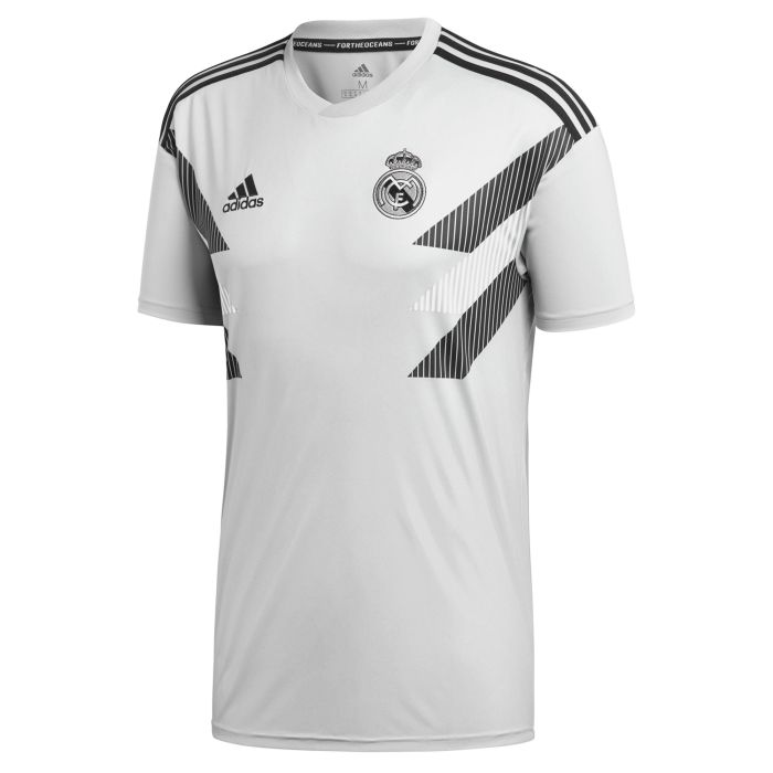 Camiseta Pre-Match Real Madrid Blanco 2018/2019