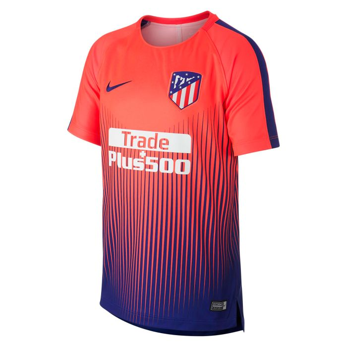 Camiseta Training Atletico de Madrid Dry Squad Junior Rojo 2018/2019