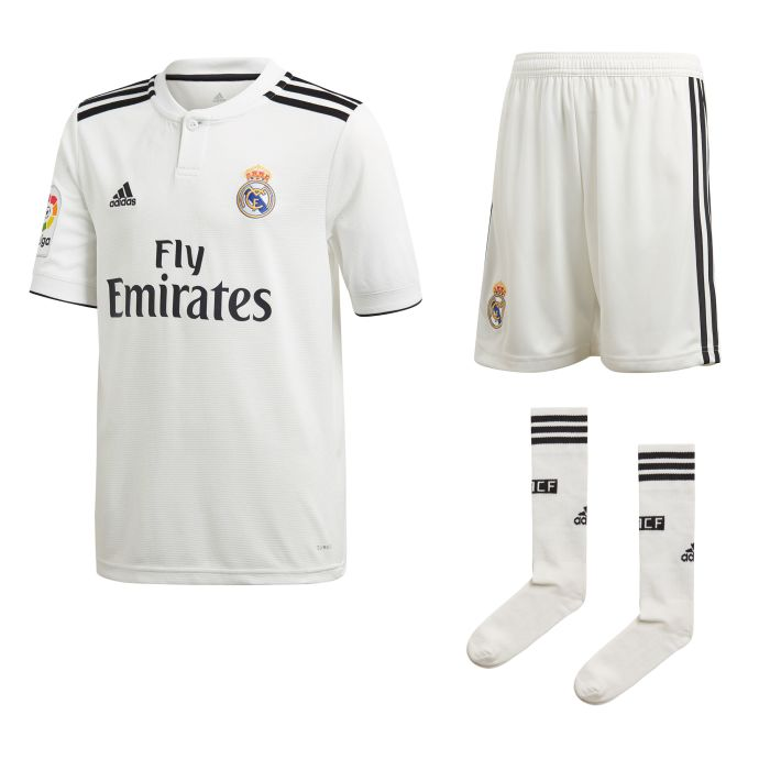 Conjunto primera Real Madrid Isco Junior 2018/2019