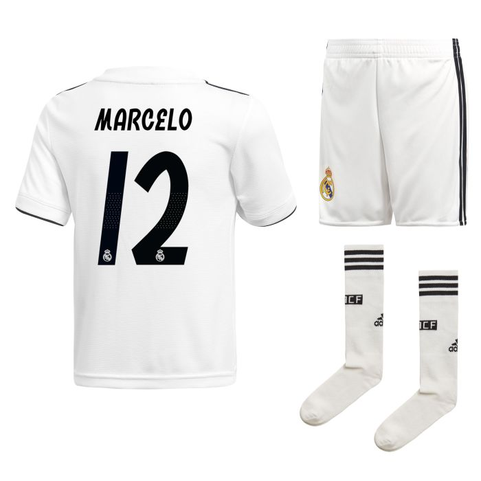 Conjunto primera Real Madrid Marcelo Junior 2018/2019