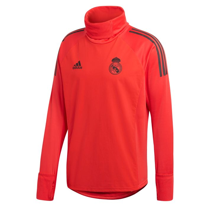 Sudadera de Training Real Madrid Ultimate Warm UCL Coral 2018/2019