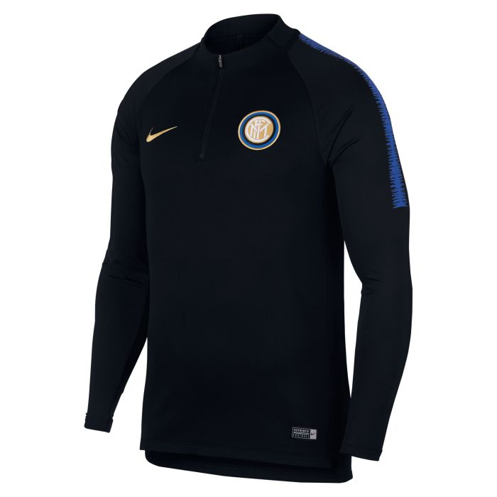 Sudadera Training Inter de Milan Dri-FIT Squad Drill Negro 2018/2019